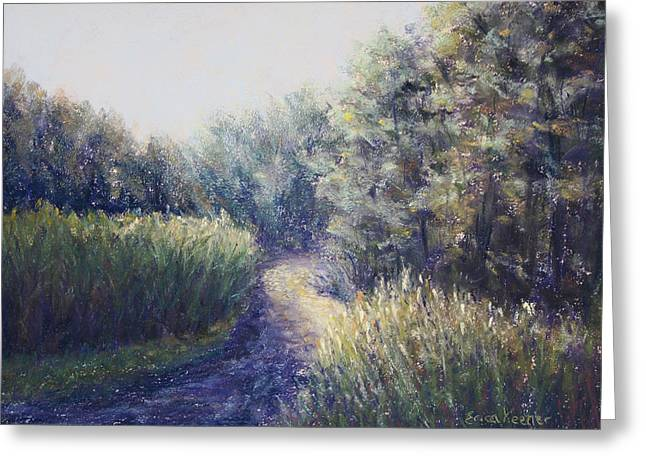 Morning Drive Greeting Card by Erica Keener