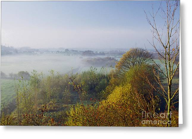 Morning Dust Greeting Card by Heiko Koehrer-Wagner