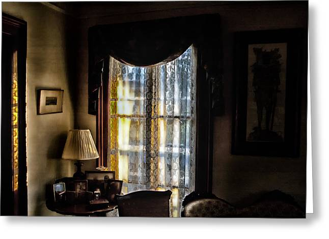Morning Light Greeting Card by Ross Powell