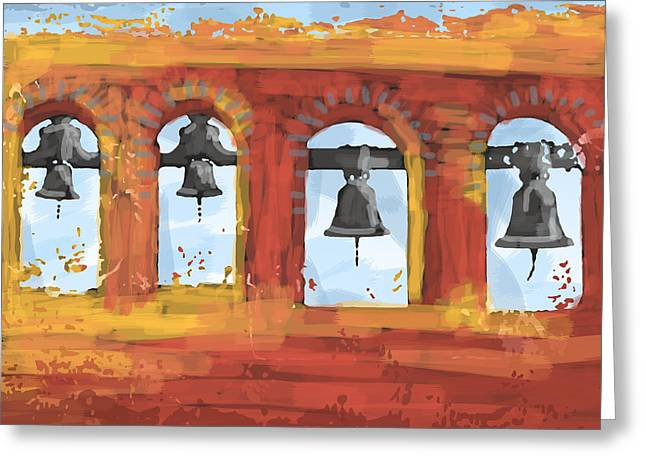 Morning Mission Bells Greeting Card