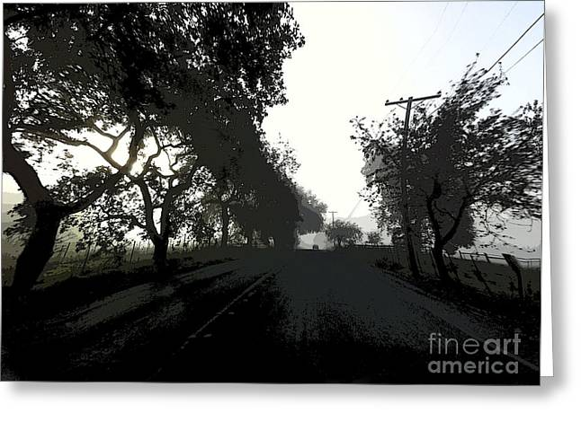 Greeting Card featuring the photograph Morning Mist by Leslie Hunziker