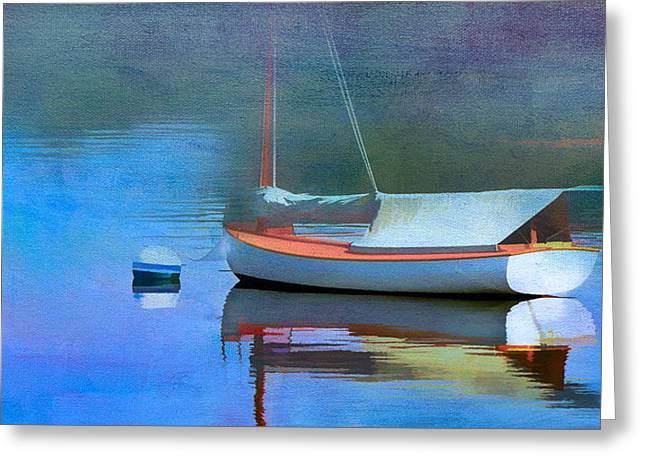 Morning Mist Greeting Card by Michael Petrizzo