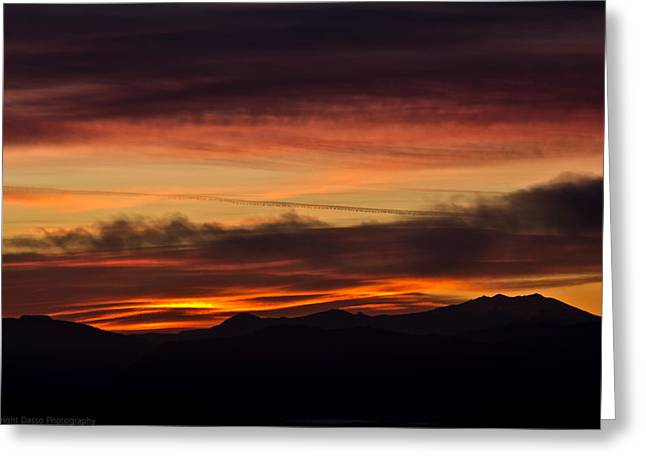 Morning Paint Greeting Card by Edward Dasso