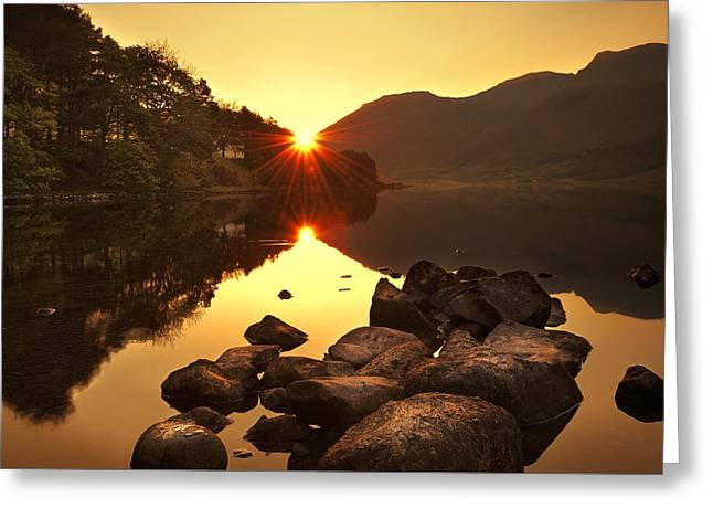 Morning Rays Greeting Card by Svetlana Sewell