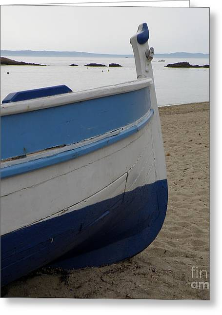 Greeting Card featuring the photograph Morning Seascape by Lainie Wrightson