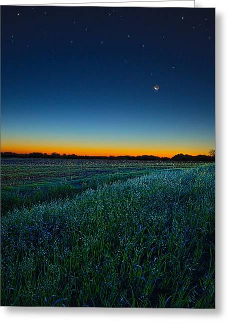 Morning Twilight Greeting Card