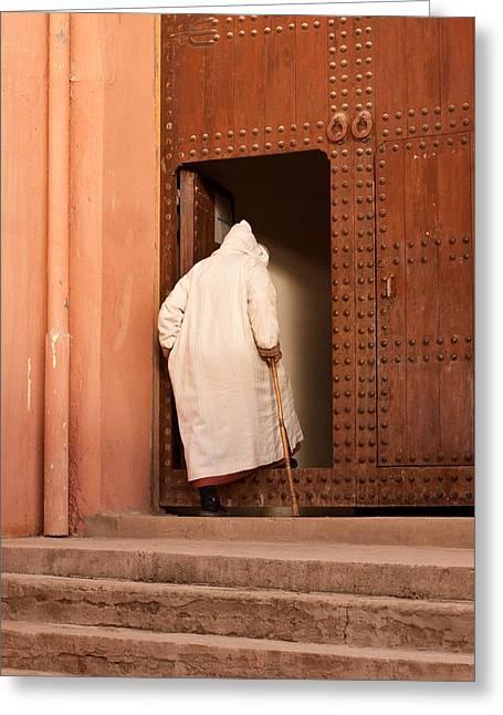 Moroccan Man Greeting Card