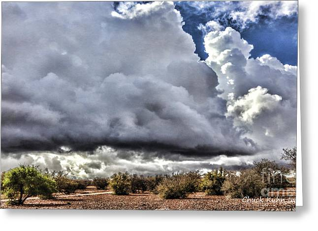 Morocco Clouds II Greeting Card by Chuck Kuhn