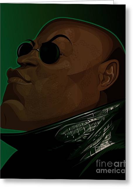 Morpheus Greeting Card