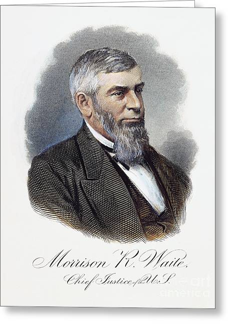 Morrison Remick Waite Greeting Card by Granger
