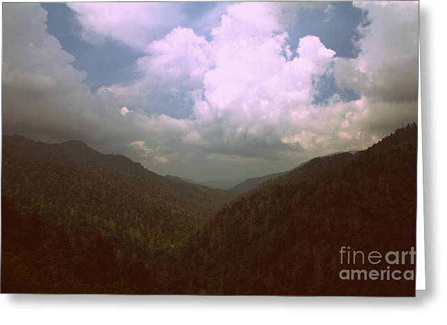 Morton Overlook Tennessee Greeting Card