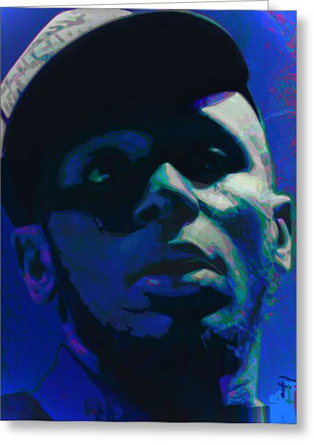 Mos Def Greeting Card by  Fli Art