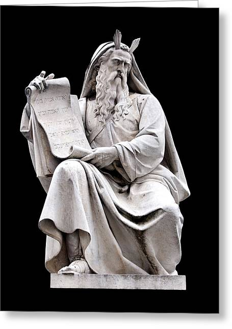 Moses Greeting Card by Fabrizio Troiani