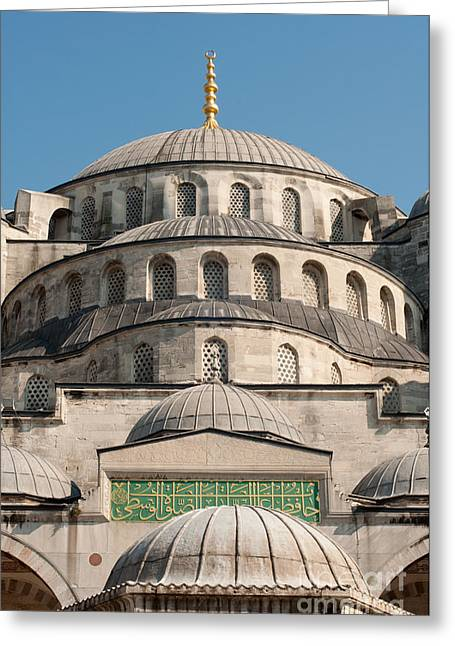 Greeting Card featuring the photograph Mosque by Andrew  Michael