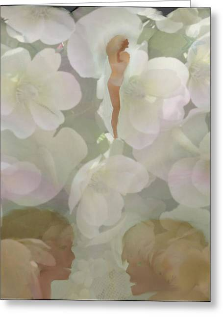 Mother And Child Greeting Card by Sherri's Of Palm Springs