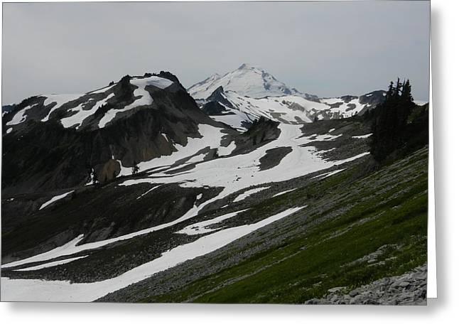 Greeting Card featuring the photograph Mount Baker by Karen Molenaar Terrell