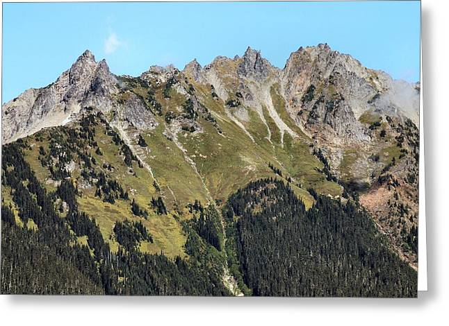 Mount Baker National Forest Greeting Card