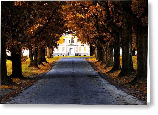 Mount Pleasant Mansion - Philadelphia Greeting Card by Bill Cannon