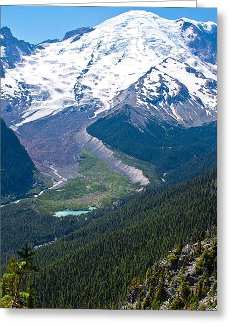 Mount Rainier Xi Greeting Card by David Patterson