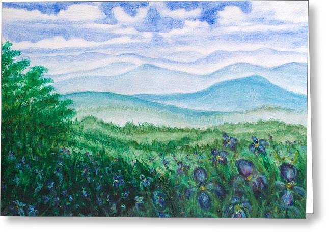 Mountain Glory Greeting Card by Jeanette Stewart