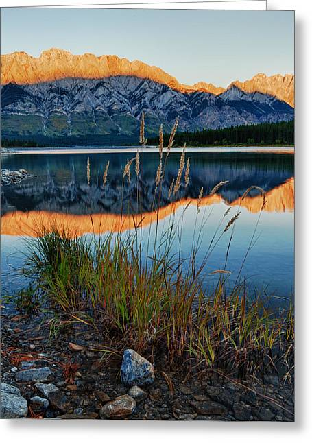 Mountain Shadow Greeting Card