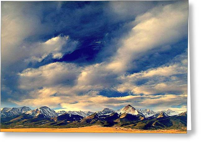 Mountain Wonder.. Greeting Card by Al  Swasey