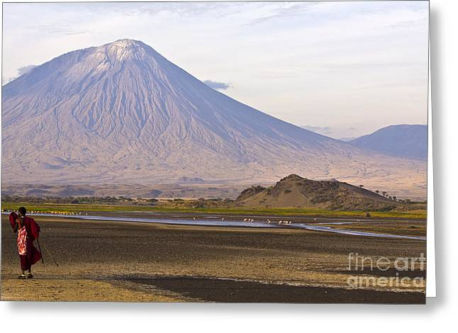 Mounttain Of God Greeting Card