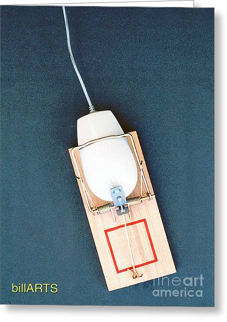 Mouse Trap Greeting Card