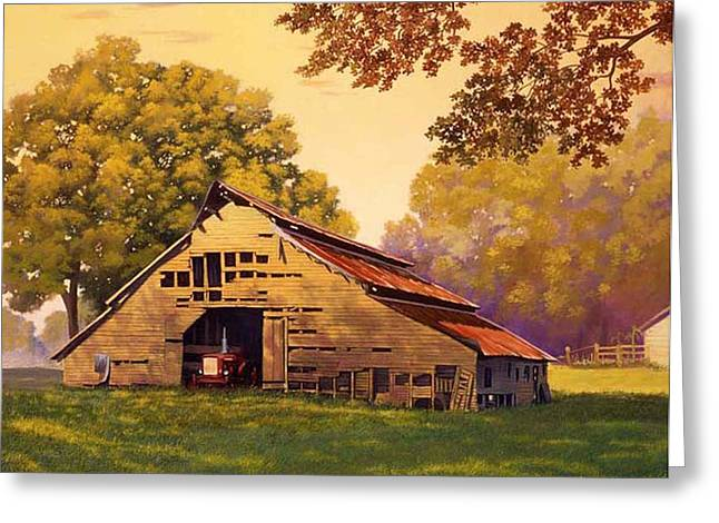 Mr. D's Barn Greeting Card
