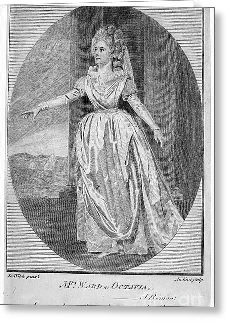 Mrs. Ward (1777-1794) Greeting Card by Granger