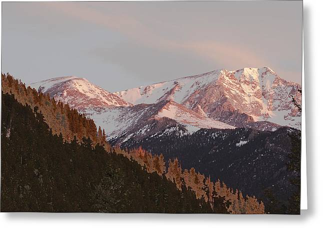 Mt Epsilon Greeting Card
