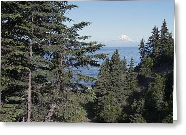 Mt. Redoubt View Greeting Card