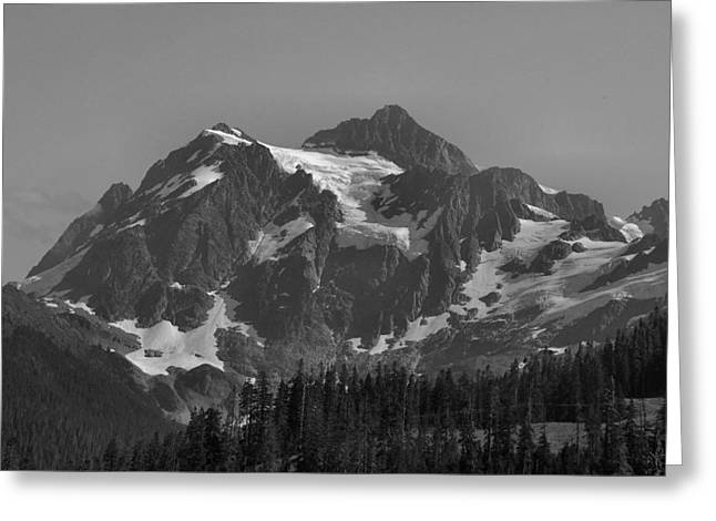 Mt. Shuksan Greeting Card