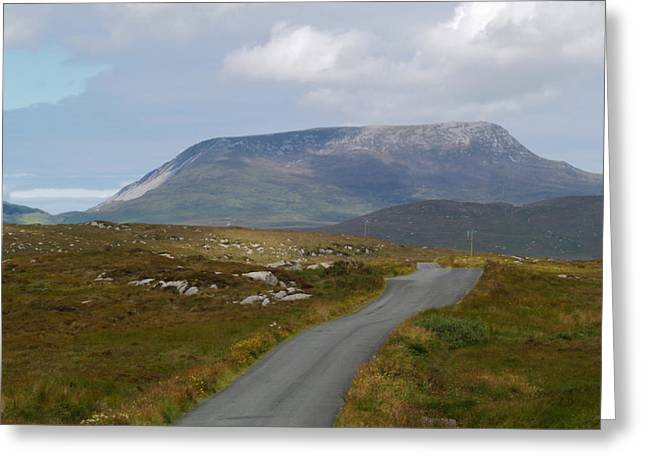 Muckish Mountain Greeting Card by Steve Watson