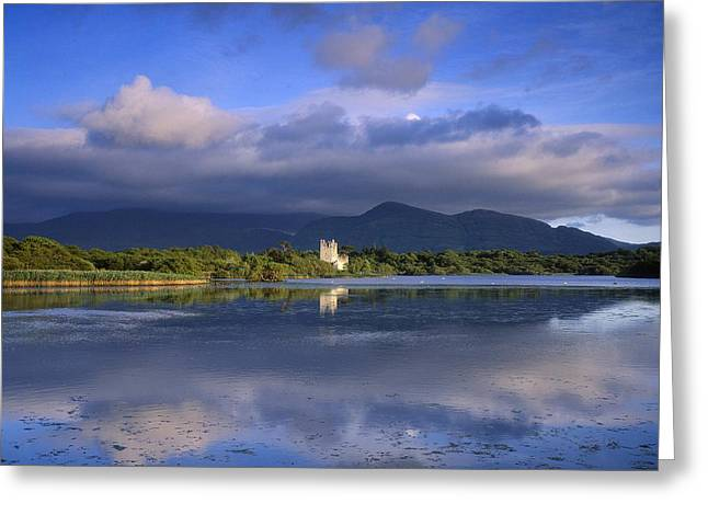 Muckross Lake, Ross Castle, Killarney Greeting Card by The Irish Image Collection
