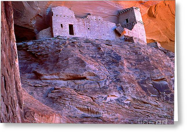 Mummy Ruin Canyon De Chelly Greeting Card by Bob Christopher