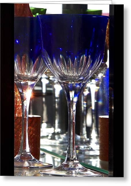 Greeting Card featuring the photograph Murano Glass by Raffaella Lunelli