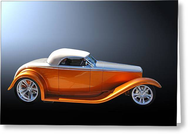 Muroc Roadster Greeting Card