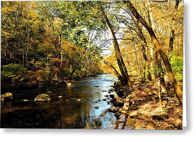 Musconetcong River Greeting Card