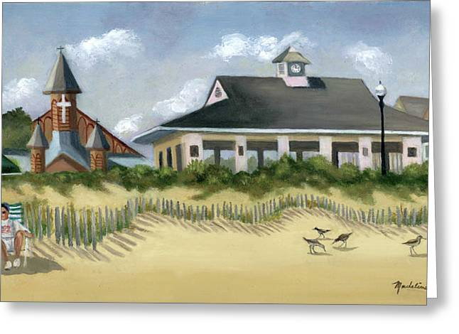 Music Pavillion In Ocean Grove  Greeting Card