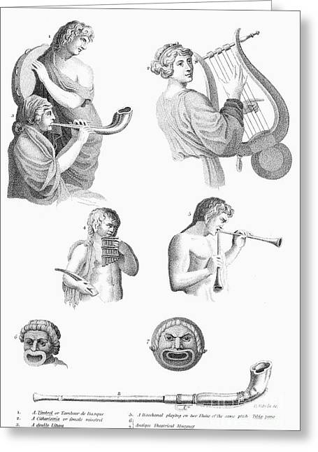 Musical Instruments Greeting Card