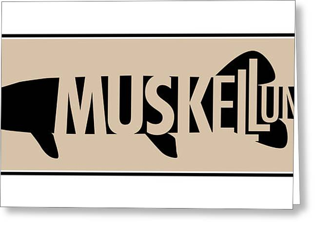Muskellunge Greeting Card by Geoff Strehlow