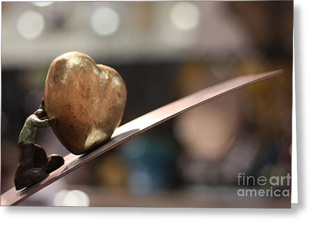 My Beautiful Heart Close Up Greeting Card