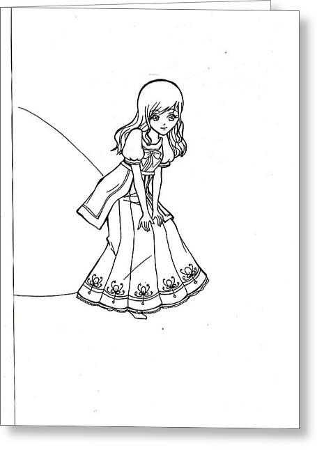 My Drawing 5 Greeting Card by Miftahur Rizqiyah