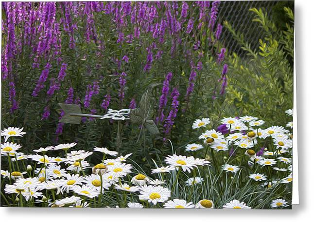 My Garden 1 Greeting Card by Michel DesRoches