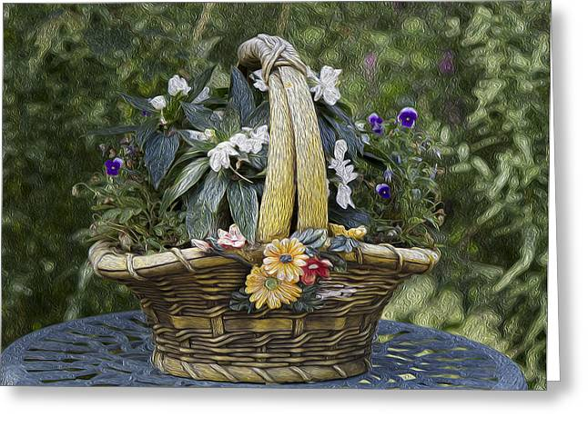 My Garden 5 Greeting Card by Michel DesRoches