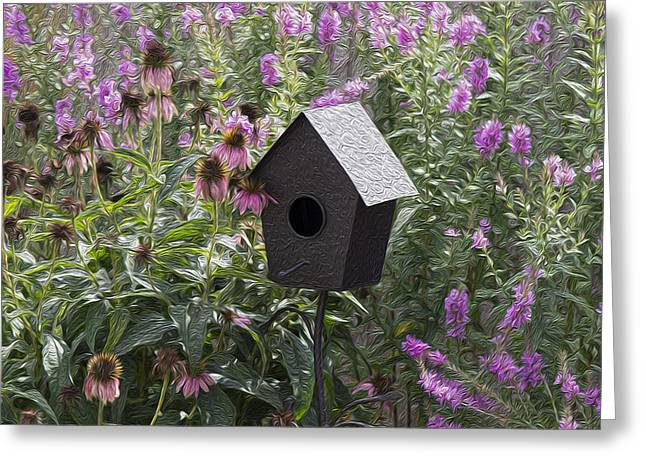 My Garden 7 Greeting Card by Michel DesRoches