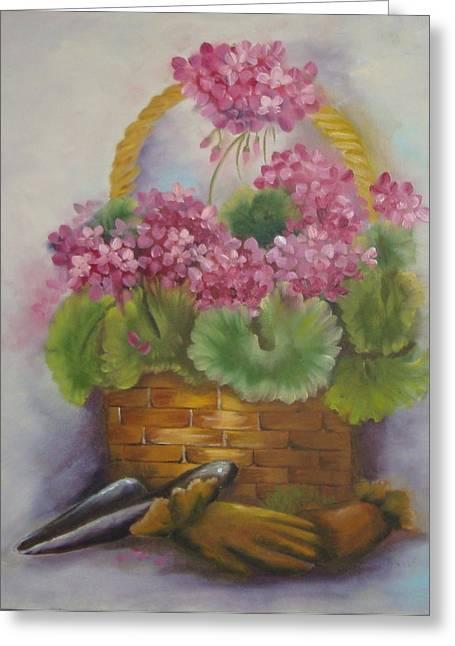 My Garden Prize Greeting Card by Bootsie Herder