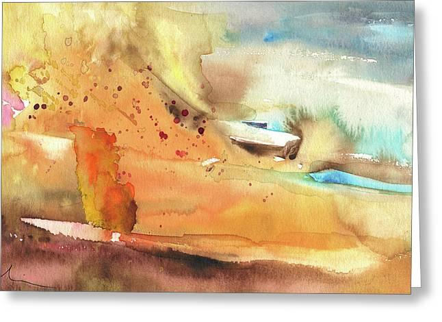 My Home On Planet Goodaboom Greeting Card by Miki De Goodaboom