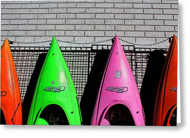 My Kayak Greeting Card by Bob Whitt